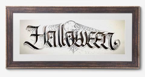 Halloween Gerahmt